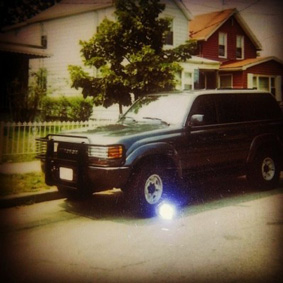 50 Cent Land Cruiser