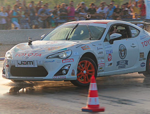 Toyota GT86 in drifting record