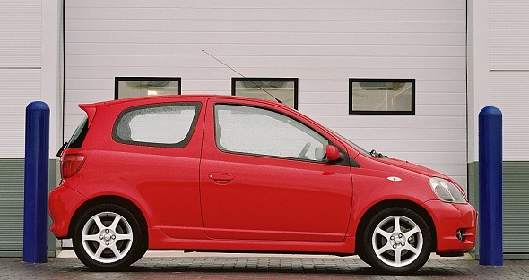 Yaris T SPORT first generation red