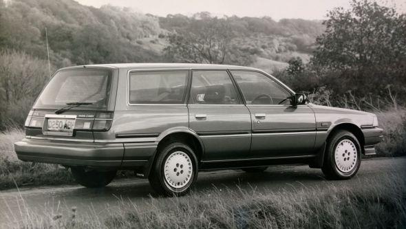 1987 Camry GLi estate