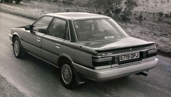 1988 Camry GLi 4WD rear