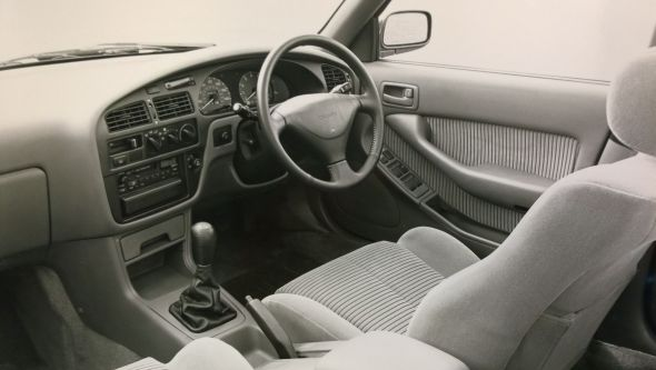 1991 Camry 2.2 GL interior