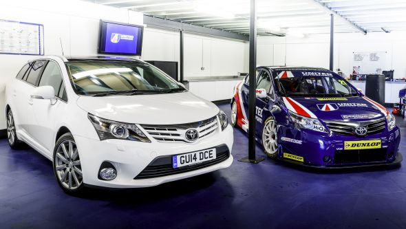 Avensis race road 001