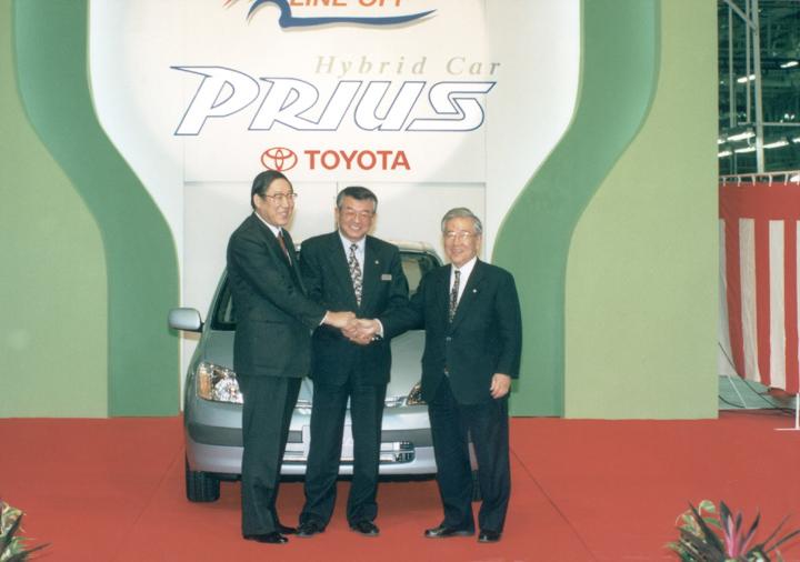1997 Prius line-off