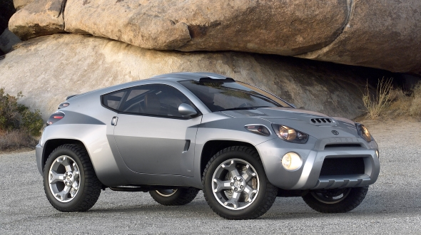 Perfect The Wraps Came Off The Toyota RSC Concept At The Chicago Auto Show In  February 2001, And The Appearance Of The Four Wheel Drive, Two Door SUV  Concept ...
