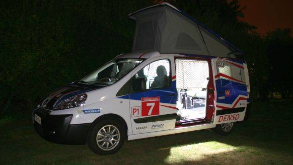 Outdoor Adventures With The Toyota Proace Campervan Toyota