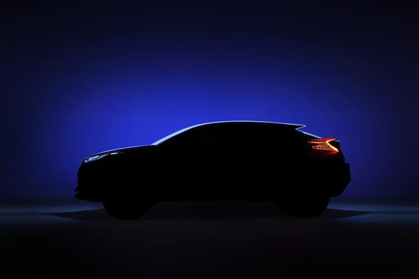 Toyota C-HR concept car