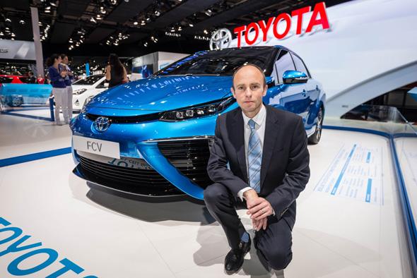 Matt Harrison and Fuel Cell Sedan