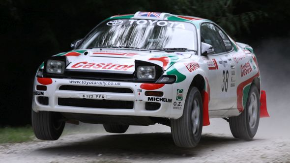 Tales From The Trophy Cabinet Toyota S Top 14 Rally Cars