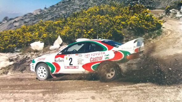 Toyota ST205 Celica WRC