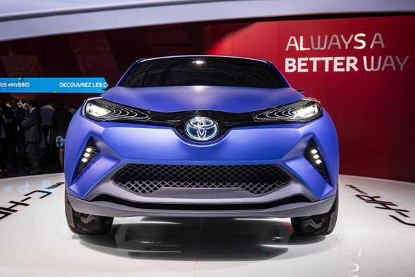 New design direction for Toyota