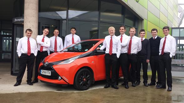 New Toyota apprentices
