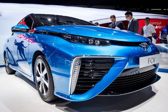 Toyota Hydrogen Fuel Cell Sedan