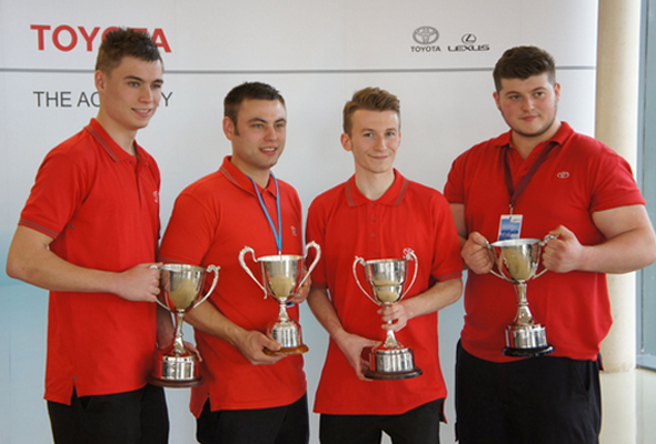 Toyota Apprentice of the Year Winners