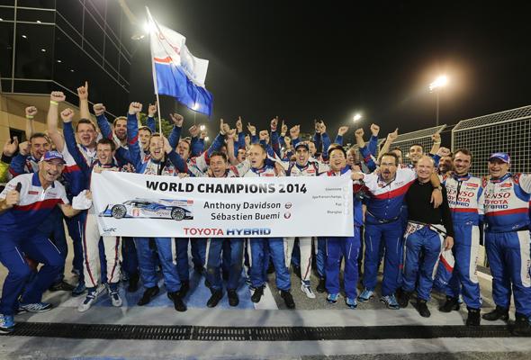 Anthony Davidson wins World Endurance Championship!