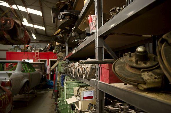 Vella Collection - Parts shelf