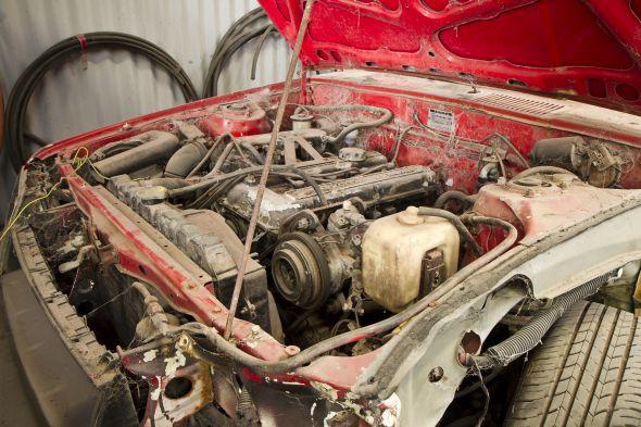 Vella Collection - RA45 GT Rally - Engine bay shot
