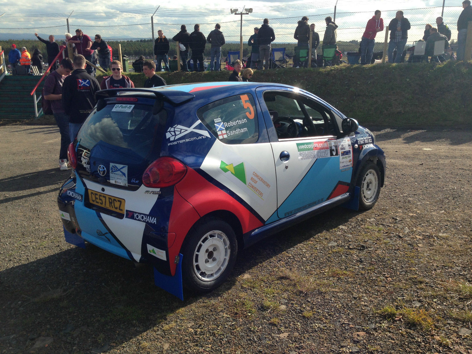 You can buy two Aygo rally cars on eBay