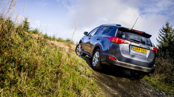How Does The Toyota Rav4 Four Wheel Drive System Work