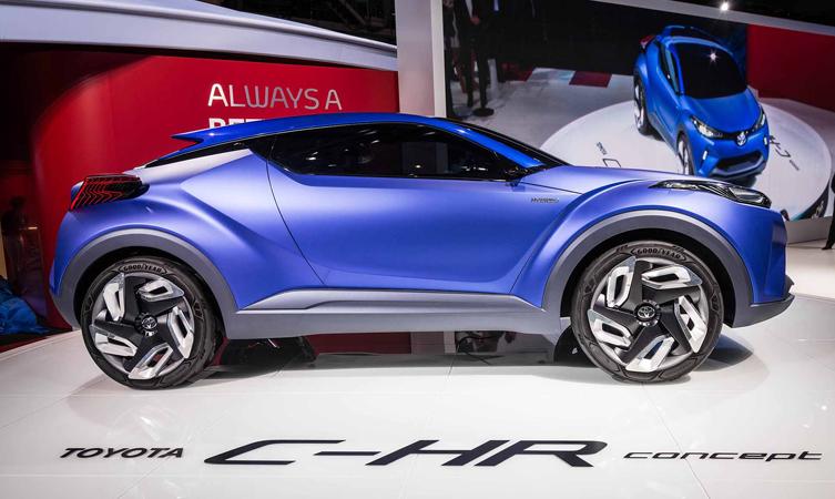 Toyota C-HR concept revealed at 2014 Paris motor show