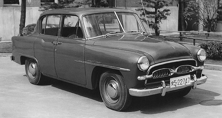 Toyota Company Latest Models >> Throwback Thursday: 1955 Toyota Crown - Toyota