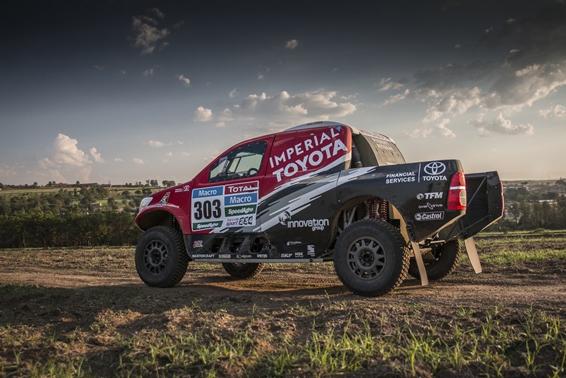Dakar 2015: Toyota Hilux