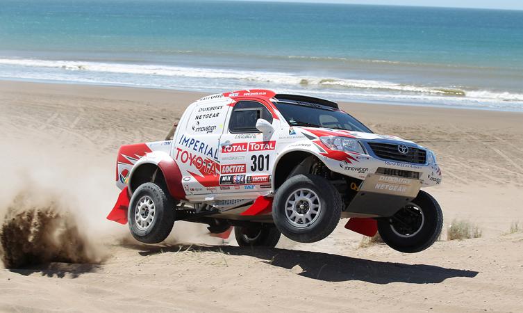 Dakar Rally: Toyota Hilux