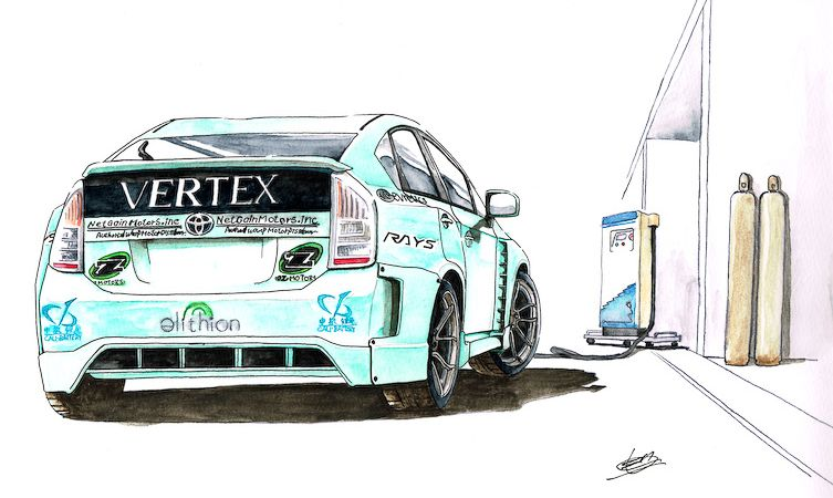 Drift Prius 02