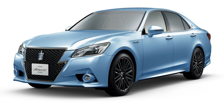 Toyota Crown blue