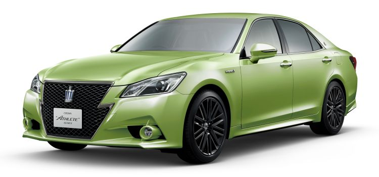 Toyota Crown green