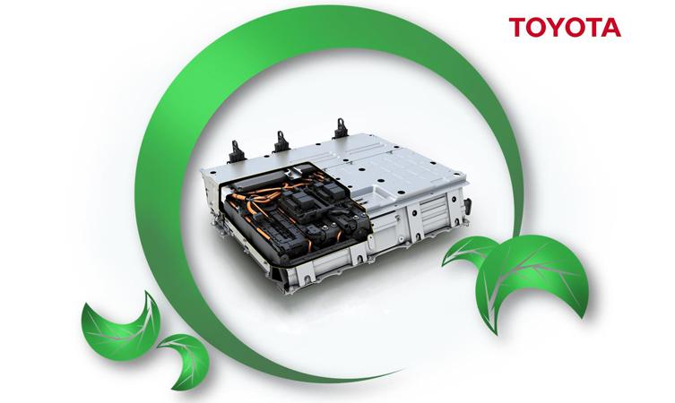 Toyota hybrid batteries