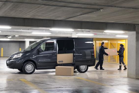 Toyota Proace loadspace