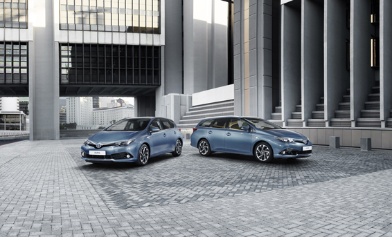 Toyota Auris hatch and touring sports