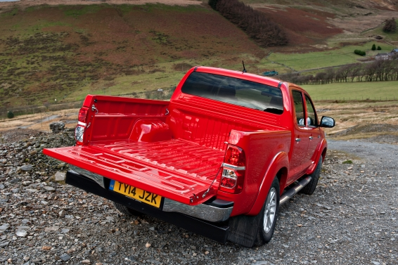 Toyota Hilux pickup bed