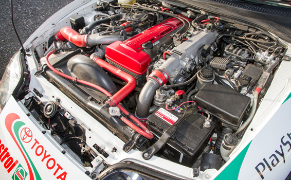Toyota-Supra-Red-Nose-Day-2