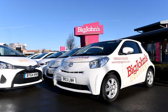 Toyota Fleet Handover - Birmingham