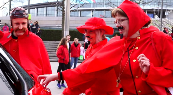 Mr Tickle Toyota Yaris Comic Relief Danceathon