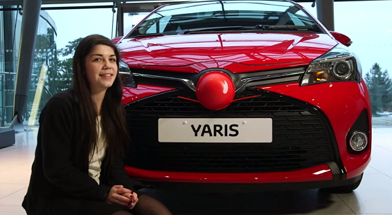 Toyota Car Red Nose Challenge