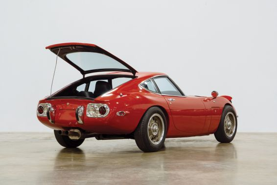 Toyota 2000GT at Amelia Island - rear view
