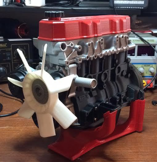 Toyota 3D-printed engine fan