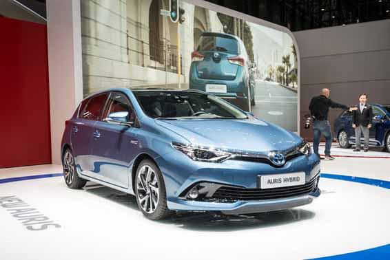 Toyota Auris Geneva motor show