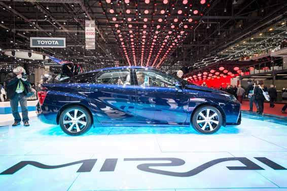 Toyota Mirai at Geneva motor show