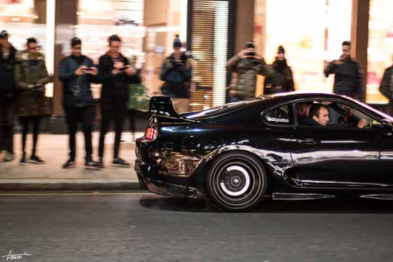 f0bf87a87d5 Modified Toyota Supra causes a scene at Car Throttle Ace Café meet