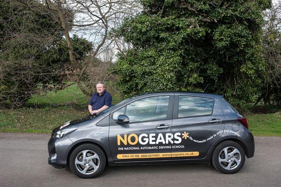 CA CArs driving school Yaris Hybrid
