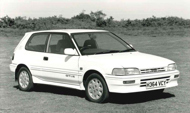 Toyota Corolla Generations 1987 1991 Toyota