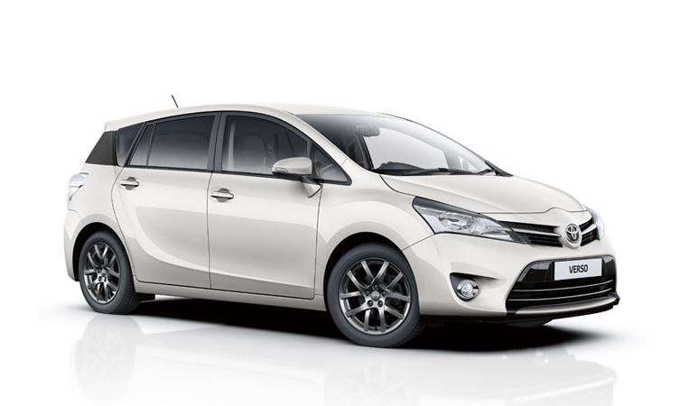 toyota verso upgraded for 2015 with new trend plus model. Black Bedroom Furniture Sets. Home Design Ideas