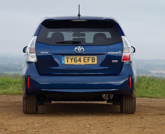 Prius 2012 rear