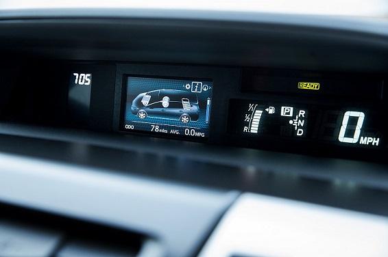 Prius Plus 2015 central screen