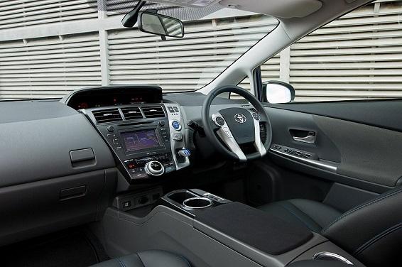 Prius plus 2012 interior