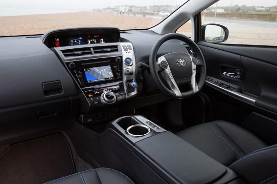 Prius plus 2015 interior